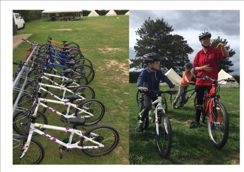 New Frog Bikes for Cobnor