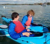 Weekly informal kayaking in Chichester Harbour