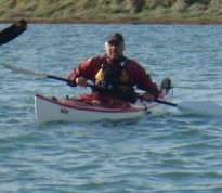 Sea kayaks in Chichester Harbour