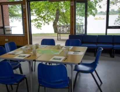 Meeting room overlooking Chichester Harbour